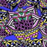 抽象背景几何样式画 库存照片
