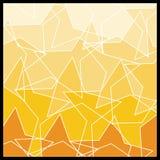 抽象背景几何马赛克 免版税库存照片