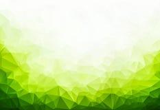 抽象背景几何绿色 免版税库存图片