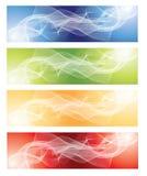 抽象背景分数维集 免版税库存图片