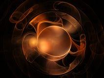 抽象背景分数维 图库摄影