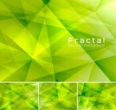 抽象背景分数维 免版税图库摄影