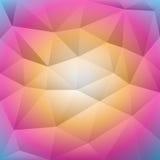 抽象背景包括的三角 免版税库存图片