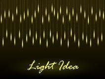 抽象背景发光的光 库存图片