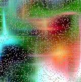抽象背景和白色泡影 库存图片