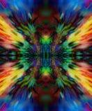 抽象背景和颜色作用,颜色背景 库存例证