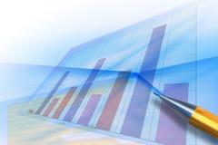抽象背景图表 免版税库存照片