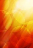 抽象背景圈子橙红口气 免版税库存照片