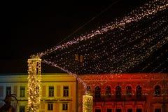 抽象背景圣诞节 图库摄影