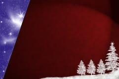 抽象背景圣诞节 库存照片