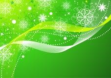 抽象背景圣诞节 向量例证