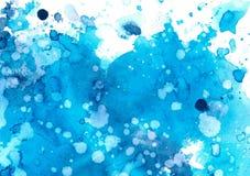 抽象背景在蓝色树荫下  库存图片