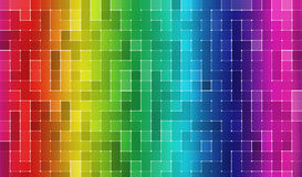 抽象背景块样式 免版税图库摄影
