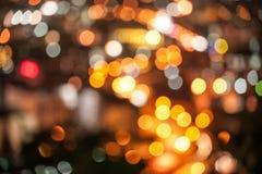 抽象背景城市光 库存图片