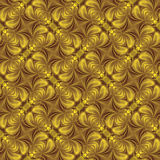 抽象背景墙纸,黄色 库存例证