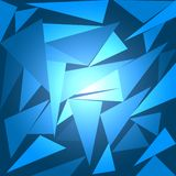 抽象背景多角形艺术传染媒介例证 向量例证