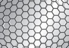抽象背景多角形 库存例证