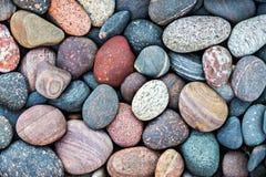 抽象背景小卵石石头 免版税库存图片