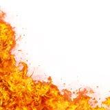抽象背景展开火热的火火焰 免版税库存照片