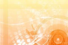 抽象背景广告牌乐趣桔子模板 免版税图库摄影