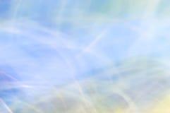 抽象背景弄脏了 蓝色和白光 库存照片