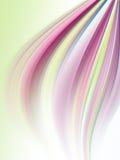抽象背景彩虹发光的数据条 库存图片