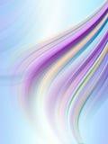 抽象背景彩虹发光的数据条 免版税库存图片