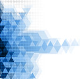 抽象背景技术 未来派技术接口 免版税图库摄影