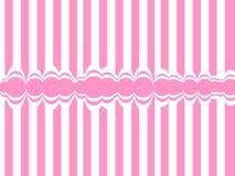 抽象背景排行粉红色 免版税图库摄影