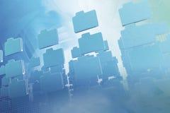 抽象背景文件夹 免版税库存照片