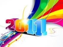 抽象背景新一轮年 免版税图库摄影