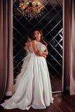 抽象背景新娘礼服女孩婚礼年轻人 免版税库存图片