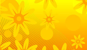 抽象背景春天 向量例证