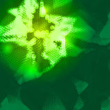 抽象背景未来派层状技术向量 免版税库存照片