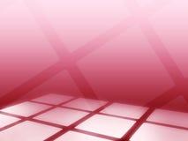 抽象背景未来派查出的形状正方形白色 免版税库存照片