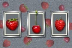 抽象背景果子 库存照片
