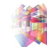 抽象背景模板-当代企业texturenBlue绿色口气 免版税图库摄影