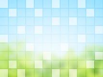 抽象背景正方形瓦片 库存图片
