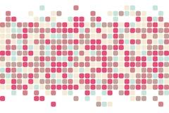 抽象背景正方形 向量背景 免版税库存图片