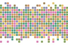 抽象背景正方形 向量背景 免版税库存照片