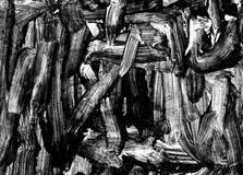 抽象背景油漆刷冲程 皇族释放例证