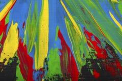 抽象背景油漆 免版税库存照片