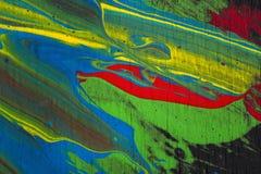 抽象背景油漆 库存图片