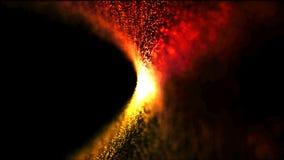 抽象背景灼烧的火微粒 免版税库存照片
