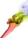 抽象背景烟 免版税图库摄影