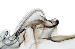 抽象背景烟 免版税库存照片