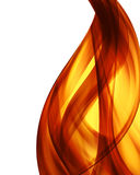 抽象背景烧伤颜色火 向量例证