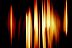 抽象背景燃烧的火 库存照片