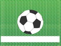 抽象背景球草绿色足球 库存图片
