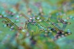 抽象背景电子主题 图库摄影